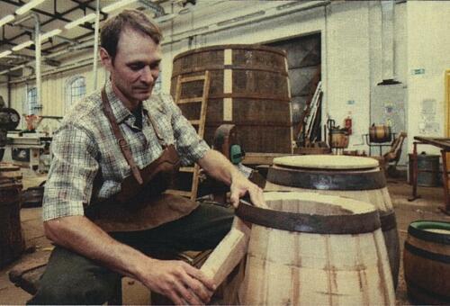 Technologie pivovarnického bednářství